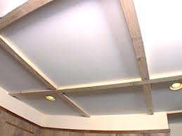 2x4 Sheetrock Ceiling Tiles by How To Create A Coffered Ceiling Hgtv