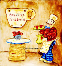 Italian Chef Kitchen Wall Decor by Wall Art For Restaurants And Hotels Original Artwork And Tiles