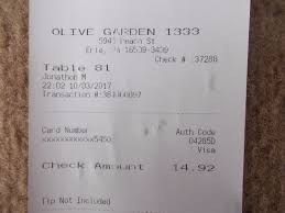 Olive Garden Erie Menu Prices & Restaurant Reviews TripAdvisor