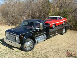 100 67 Dodge Truck 1977 D700 Car Hauler Custom Built Owned By The