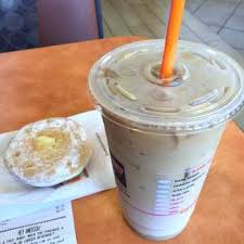 Med Iced Coffee Dunkin Donuts Photo Of S Fl United States Cream Medium Hazelnut Calories Nutrition Facts For