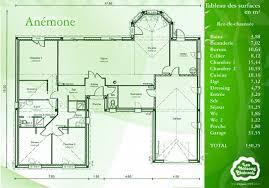 merveilleux exemple plan de maison 0 an233mone une maison en u