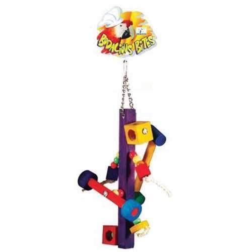Prevue Pet Products BPV62368 Bodacious Bites Bird Toy - Medium/Large, Spinner