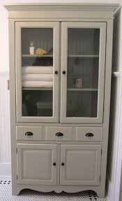 Free Standing Storage Cabinets For Bathrooms by Furniture Bathroom Linen Floor Cabinets Linen Cabinet