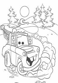 Cars Ivan From Disney 2 Coloring Page