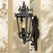 casa marseille 22 high outdoor wall light 38268 ls plus
