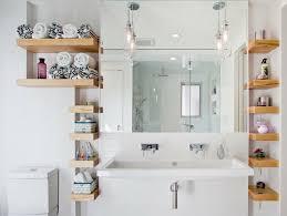 wandregale für badezimmer praktische moderne badeinrichtung