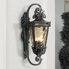 casa marseille 27 1 2 high outdoor wall light 61698 ls plus