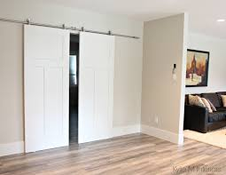 Bedroom : Unusual Lowes Barn Door Hardware Sliding Barn Door Diy ... Diy Sliding Barn Door Youtube Tips Tricks Great For Classic Home Design Bypass Closet Hdware Doors Diy Stayinelpasocom Ana White Cabinet For Tv Projects The 25 Best Haing Barn Doors Ideas On Pinterest Interior Best Interior Grandy Console Remodelaholic How To Build A Wood Chevron Howtos Find It Make Love Large Unique Turquoise