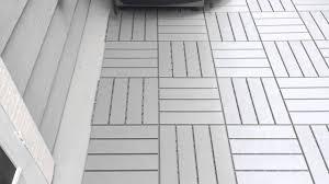 Runnen Floor Decking Outdoor Brown Stained by Nice Ikea Outdoor Flooring Inspiration Home Designs