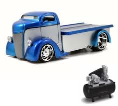 Diecast Car & Air Compressor Package - 1947 Ford COE Flatbed, Blue ... Greenlight Hd Trucks Series 2 Intertional Durastar Flatbed Truck Amazoncom Lego City 60017 Toys Games Antique Cast Iron Toy Flatbed Truck Platform 3d Model Cgtrader 164 Ertl Greenlight Custom Farm Intertional Sd Spray Custom Chevy C30 Agco White Dealer Kenworth T400 2012 Hum3d Big Farm 116 Peterbilt Model 367 W 1206 Farmall Kids Simulation 150 Scale Diecast Cape Type Transporter W900 With Long Pipe By New Ray Shop Wood Toy Plans Semi Regarding Wooden Ksystems For Youtube