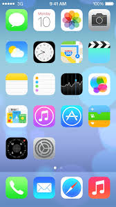 Iphone 4 Icons Top Phone