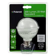 led g25 globe frosted polaroid plg25 25 200 3 1sw