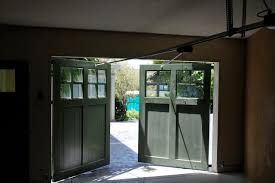 Out Swing Carriage garage Doors Traditional Shed San