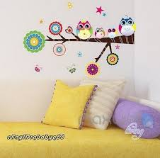 Owl Bedroom Wall Stickers by 37 Best Nursery Wall Decals Images On Pinterest Nursery Wall