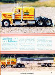 100 Sammons Trucking Photo 1982 11 November Model Of The Month Overdrive Magazine 1982