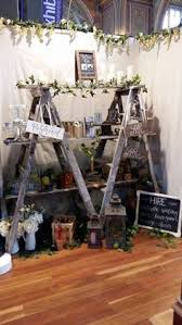 Twin Ladders Mirrored Cake Stands Rustic Lanterns Quoits Etc Available At My Sweetevent