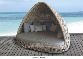 outdoor patio furniture rattan furniture rattan round bed outdoor