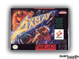 Axelay SNES Super Nintendo Game Case Box Cover Brand New ...