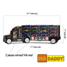 Amazon.com: Big-Daddy Tractor Trailer Car Collection Case Carrier ... A Smokin Good Time 104 Magazine Trucking Is About To Go Automated By Andy Warner Family Finds Their Home At Dynamic Transit Highway Star Pinterest Rigs Biggest Truck And Cars Little Girls Love Trucker Daddy Postcard Big Daddys Truck Trailer Repair Shop In Van Alstyne Fatherson Thing Haynie Simply Put Images Wife Mayhem Masons Llc 310 Photos 5 Reviews Cargo Freight Just Car Guy Don Garlits Swamp Rat Special Edition 1995 Company Employee Accused Of Stealing Almost 4000