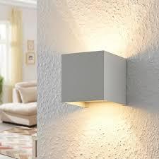 led wandle zuzana würfel weiß metall wohnzimmer flur lenwelt leuchte g9