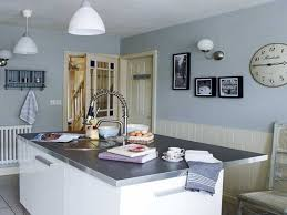 blue kitchen walls you ll feel more comfortable when cooking
