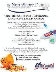 Operation Gratitude Halloween Candy 2014 by News U2013 Kenilworth U0026 Winnetka Illinois Dentist U2013 Dr Jeffrey C Eadie