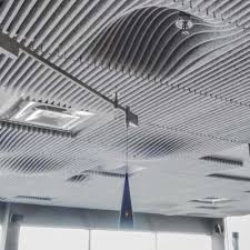 Tectum Concealed Corridor Ceiling Panels by Tectum Cloud Panels Floating System Custom Shapes Photo Grand