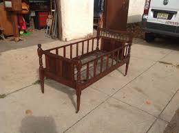 Antique Civil War Era Crib Bed  Obnoxious Antiques