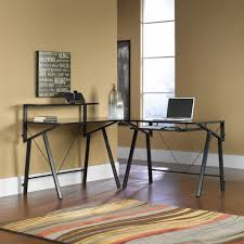 Sauder L Shaped Desk With Hutch by Small Sauder L Shaped Desk Glass Elegant Sauder L Shaped Desk