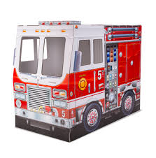 100 Fire Truck Pictures Melissa Doug Indoor Corrugate Cardboard Playhouse 4