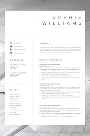 New CV Template | Resume Template Minimalist | Professional ... Cv Template Professional Curriculum Vitae Minimalist Design Ms Word Cover Letter 1 2 And 3 Page Simple Resume Instant Sample Format Awesome Impressive Resume Cv Mplate With Nice Typography Simple Design Vector Free Minimalistic Clean Ps Ai On Behance Alice In Indd Ai 15 Templates Sleek Minimal 4p Ocane Creative