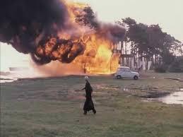 House Fire Scene From Andrei Tarkovskys The Sacrifice 1986