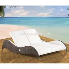 Cozy Modern Design Outdoor Rattan Chaise Lounge Furniture Double Sunbeds  For Beach - Buy Sunbeds For Beach,Lounge Furniture,Rattan Sunbed Product On  ... Chaise Lounge Chair Outdoor Wicker Rattan Couch Patio Fniture Wpillow Pool Ebay Yardeen 2 Pack Poolside Hubsch Contemporary Chairs Designer Lounges Wickercom Costway Brown Rakutencom Australia Elgant Hot Item With Ottoman Black Grey Modern Curved With Curve Arms Buy Chairrattan Chairoutdoor Awesome