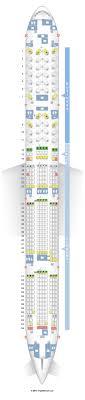 reserver siege air canada seatguru seat map air canada boeing 777 300er 77w three class v1