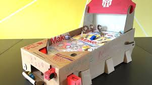 Papercraft Pinball Machines Retro Arcade Game
