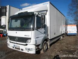 100 Mercedes Box Truck Used Benz Atego Box Trucks Year 2005 For Sale Mascus USA