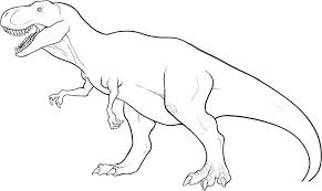 Printable Dinosaur Coloring Pages