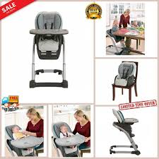 Best High Chair For Small Spaces Graco Blossom Studio 4moms Folding ...