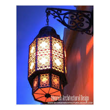 moroccan outdoor lights rustic patio wall ls custom ligting
