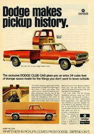 Cars We Remember: First Ever Four-door Crew Cab And Extended Cab ...