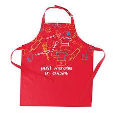 tablier cuisine pour enfant tablier coton linge d office la foir fouille