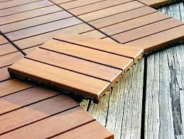 wood tiles for deck acacia hardwood deck tiles pack of wooden deck