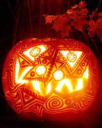 Maleficent Pumpkin Designs by Minecraft Pumpkin Carving Patterns Blurgh The Thinkgeek