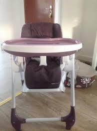 chaise haute bébé aubert photos chaise haute multipositions aubert concept par mnmsfluo