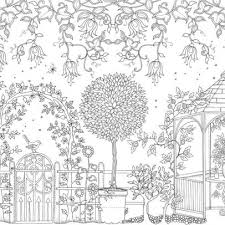 Upload Image Nl 20 Postcards Secret Garden Binnenwerk Pagina Adult Coloring Book