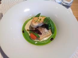 pot au feu prague sea bream with monk fish green puree picture of pot au feu