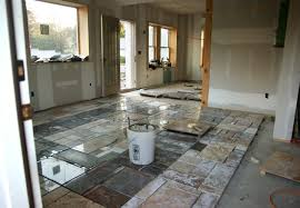 Living Room Granite Counter Top Scrap Floor