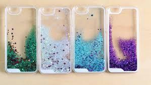 Hot Glitter Stars Dynamic Liquid Quicksand Hard Case Cover For