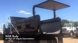 100 Dump Truck Tailgate Air High Lift YouTube